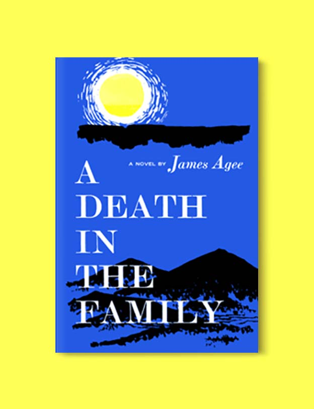 Books Set In Each State, A Death In The Family by James Agee - Visit www.taleway.com to find books set around the world. america reading challenge, books set in every state, books from every state, books from each state, most popular book in each state, books about each state, books to read from every state, us road trip, usa book list, american books, american book covers, american books reading list, usa books, us books, book challenge, reading challenge, books set in america, state books series, 50 states book list
