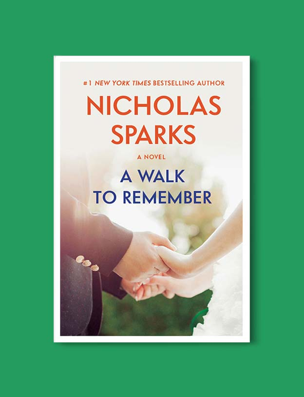 Books Set In Each State, A Walk To Remember by Nicholas Sparks - Visit www.taleway.com to find books set around the world. america reading challenge, books set in every state, books from every state, books from each state, most popular book in each state, books about each state, books to read from every state, us road trip, usa book list, american books, american book covers, american books reading list, usa books, us books, book challenge, reading challenge, books set in america, state books series, 50 states book list