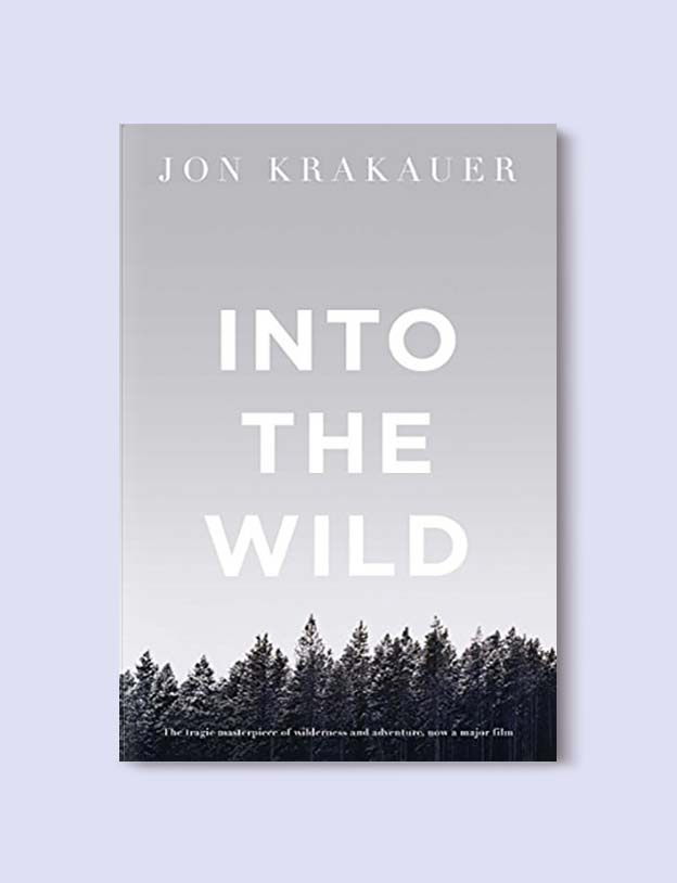 Books Set In Each State, Into The Wild by Jon Krakauer - Visit www.taleway.com to find books set around the world. america reading challenge, books set in every state, books from every state, books from each state, most popular book in each state, books about each state, books to read from every state, us road trip, usa book list, american books, american book covers, american books reading list, usa books, us books, book challenge, reading challenge, books set in america, state books series, 50 states book list
