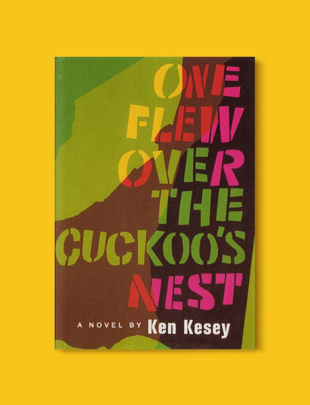 Books Set In Each State, One Flew Over The Cuckoo's Nest by Ken Kesey - Visit www.taleway.com to find books set around the world. america reading challenge, books set in every state, books from every state, books from each state, most popular book in each state, books about each state, books to read from every state, us road trip, usa book list, american books, american book covers, american books reading list, usa books, us books, book challenge, reading challenge, books set in america, state books series, 50 states book list