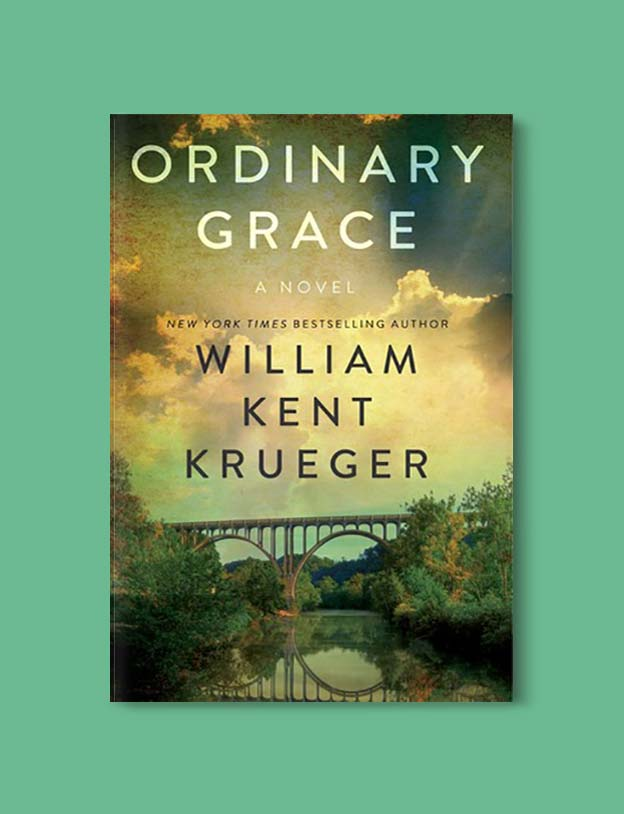 Books Set In Each State, Ordinary Grace by William Kent Krueger - Visit www.taleway.com to find books set around the world. america reading challenge, books set in every state, books from every state, books from each state, most popular book in each state, books about each state, books to read from every state, us road trip, usa book list, american books, american book covers, american books reading list, usa books, us books, book challenge, reading challenge, books set in america, state books series, 50 states book list