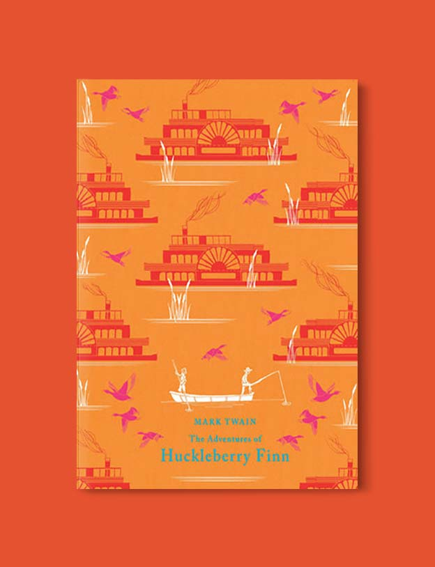 Books Set In Each State, The Adventures of Huckleberry Finn by Mark Twain - Visit www.taleway.com to find books set around the world. america reading challenge, books set in every state, books from every state, books from each state, most popular book in each state, books about each state, books to read from every state, us road trip, usa book list, american books, american book covers, american books reading list, usa books, us books, book challenge, reading challenge, books set in america, state books series, 50 states book list