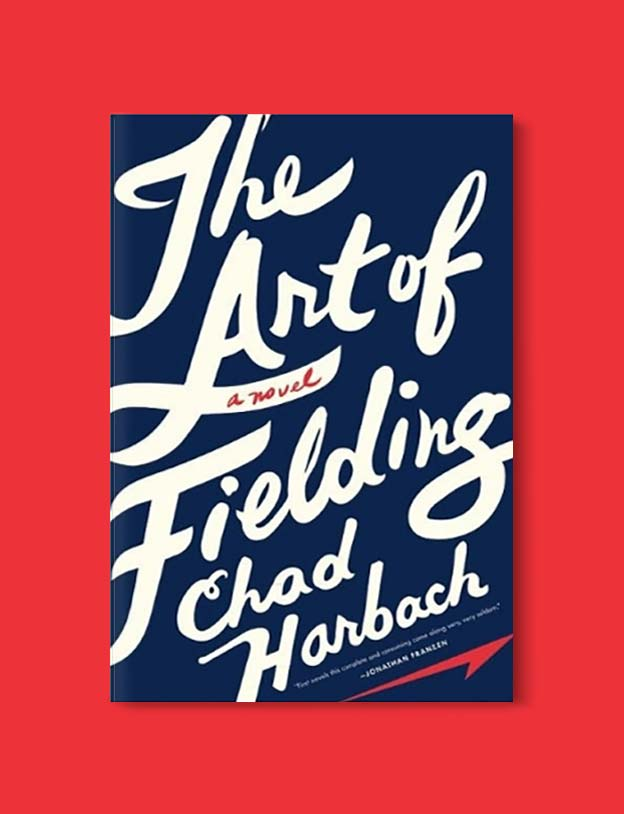 Books Set In Each State, The Art of Fielding by Chad Harbach - Visit www.taleway.com to find books set around the world. america reading challenge, books set in every state, books from every state, books from each state, most popular book in each state, books about each state, books to read from every state, us road trip, usa book list, american books, american book covers, american books reading list, usa books, us books, book challenge, reading challenge, books set in america, state books series, 50 states book list