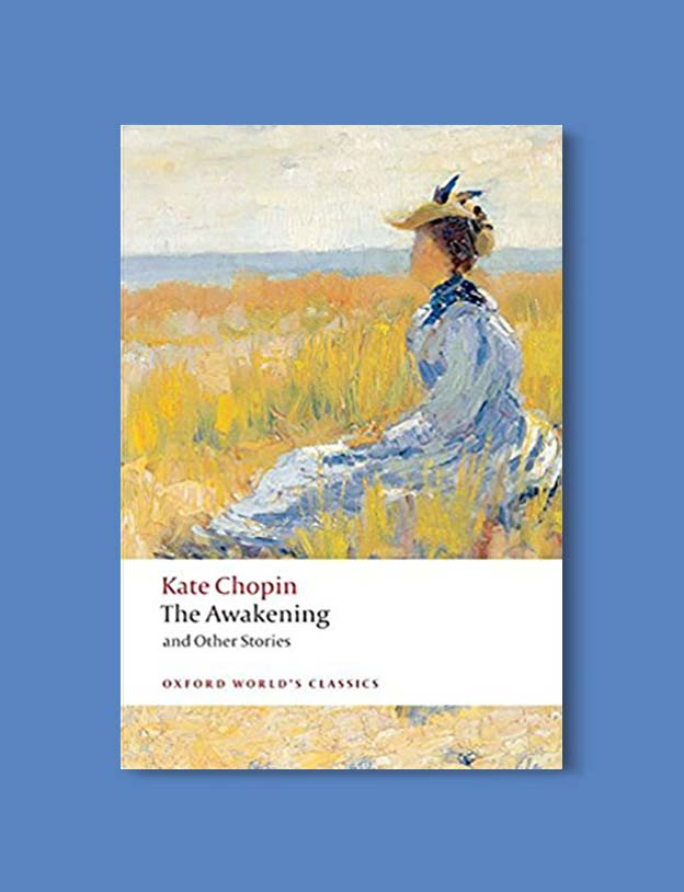 Books Set In Each State, The Awakening by Kate Chopin - Visit www.taleway.com to find books set around the world. america reading challenge, books set in every state, books from every state, books from each state, most popular book in each state, books about each state, books to read from every state, us road trip, usa book list, american books, american book covers, american books reading list, usa books, us books, book challenge, reading challenge, books set in america, state books series, 50 states book list