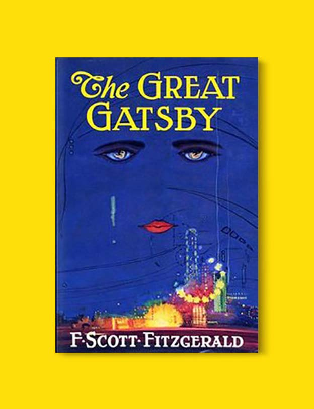 Books Set In Each State, The Great Gatsby by F. Scott Fitzgerald - Visit www.taleway.com to find books set around the world. america reading challenge, books set in every state, books from every state, books from each state, most popular book in each state, books about each state, books to read from every state, us road trip, usa book list, american books, american book covers, american books reading list, usa books, us books, book challenge, reading challenge, books set in america, state books series, 50 states book list