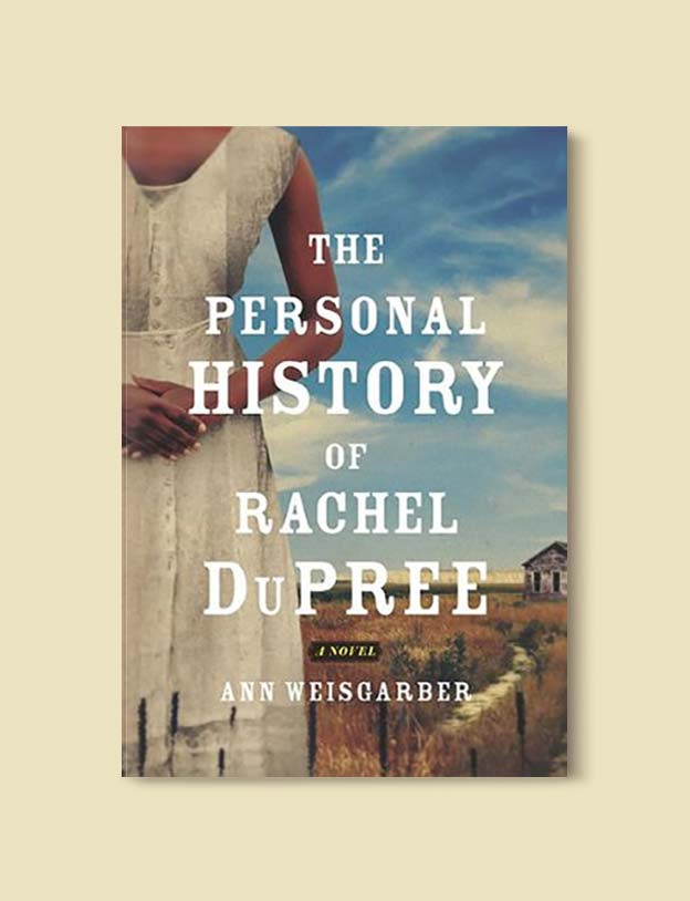 Books Set In Each State, The Personal History of Rachel DuPree by Ann Weisgarber - Visit www.taleway.com to find books set around the world. america reading challenge, books set in every state, books from every state, books from each state, most popular book in each state, books about each state, books to read from every state, us road trip, usa book list, american books, american book covers, american books reading list, usa books, us books, book challenge, reading challenge, books set in america, state books series, 50 states book list