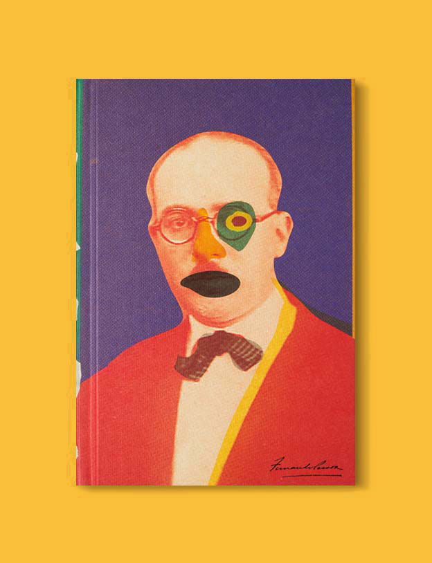 Books Set In Portugal - The Book of Disquiet by Fernando Pessoa. Visit www.taleway.com for books set around the world. portuguese books, books portugal, portugal book, books about portugal, portugal inspiration, portugal travel, portugal reading, portugal reading challenge, portugal packing, books set in lisbon, lisbon book, lisbon inspiration, lisbon travel, travel reading challenge, porto travel, sintra travel, books around the world, books set in europe, portugal culture, portugal history, portugal author, books and travel, reading list, portugal lisbon, books to read, books set in different countries