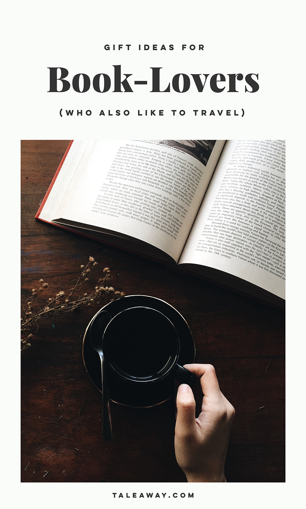 Gifts For Book Lovers - For more books that inspire travel visit www.taleway.com. gifts for bookworms, gifts for readers, gifts for book lovers that aren't books, cool gifts for book lovers, gifts for book lovers amazon, book lovers gift basket, gifts for readers book lovers, gifts for travelers, gifts for travel lovers, books and travel, books and traveling, travel gifts