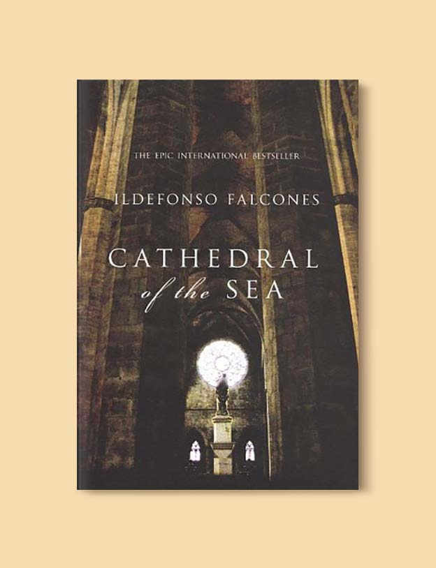 Books Set In Spain - Cathedral of the Sea by Ildefonso Falcones. For books that inspire travel visit www.taleway.com. spanish books, books about spain, books on spain culture, novels set in spain, spanish novels, best books about spain, books on spain travel, best novels set in spain, contemporary novels set in spain, spain historical fiction, spain inspiration, spain travel, packing spain, spain reading list, travel reads, reading list, books around the world, books to read, books set in different countries