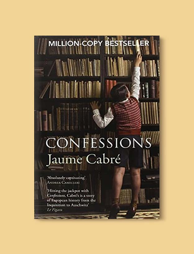 Books Set In Spain - Confessions by Jaume Cabré. For books that inspire travel visit www.taleway.com. spanish books, books about spain, books on spain culture, novels set in spain, spanish novels, best books about spain, books on spain travel, best novels set in spain, contemporary novels set in spain, spain historical fiction, spain inspiration, spain travel, packing spain, spain reading list, travel reads, reading list, books around the world, books to read, books set in different countries