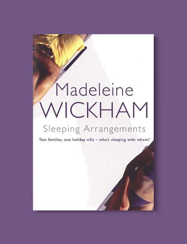 Books Set In Spain - Sleeping Arrangements by Madeleine Wickham. For books that inspire travel visit www.taleway.com. spanish books, books about spain, books on spain culture, novels set in spain, spanish novels, best books about spain, books on spain travel, best novels set in spain, contemporary novels set in spain, spain historical fiction, spain inspiration, spain travel, packing spain, spain reading list, travel reads, reading list, books around the world, books to read, books set in different countries