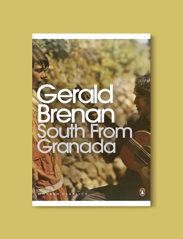 Books Set In Spain - South from Granada: A Sojourn in Southern Spain by Gerald Brenan. For books that inspire travel visit www.taleway.com. spanish books, books about spain, books on spain culture, novels set in spain, spanish novels, best books about spain, books on spain travel, best novels set in spain, contemporary novels set in spain, spain historical fiction, spain inspiration, spain travel, packing spain, spain reading list, travel reads, reading list, books around the world, books to read, books set in different countries