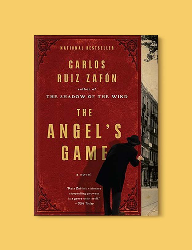 Books Set In Spain - The Angel's Game by Carlos Ruiz Zafón. For books that inspire travel visit www.taleway.com. spanish books, books about spain, books on spain culture, novels set in spain, spanish novels, best books about spain, books on spain travel, best novels set in spain, contemporary novels set in spain, spain historical fiction, spain inspiration, spain travel, packing spain, spain reading list, travel reads, reading list, books around the world, books to read, books set in different countries