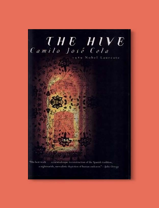 Books Set In Spain - The Hive by Camilo José Cela. For books that inspire travel visit www.taleway.com. spanish books, books about spain, books on spain culture, novels set in spain, spanish novels, best books about spain, books on spain travel, best novels set in spain, contemporary novels set in spain, spain historical fiction, spain inspiration, spain travel, packing spain, spain reading list, travel reads, reading list, books around the world, books to read, books set in different countries