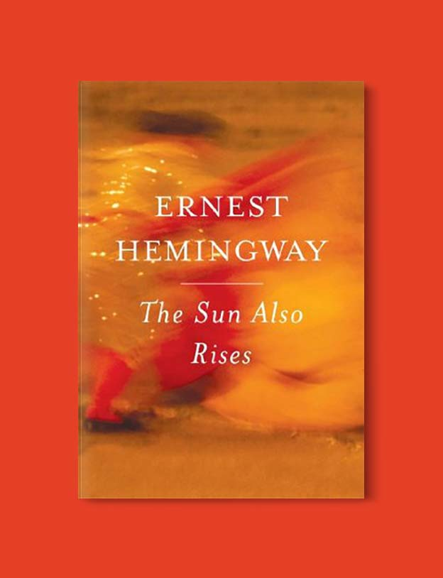 Books Set In Spain - The Sun Also Rises by Ernest Hemingway. For books that inspire travel visit www.taleway.com. spanish books, books about spain, books on spain culture, novels set in spain, spanish novels, best books about spain, books on spain travel, best novels set in spain, contemporary novels set in spain, spain historical fiction, spain inspiration, spain travel, packing spain, spain reading list, travel reads, reading list, books around the world, books to read, books set in different countries