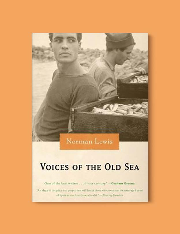Books Set In Spain - Voices of the Old Sea by Norman Lewis. For books that inspire travel visit www.taleway.com. spanish books, books about spain, books on spain culture, novels set in spain, spanish novels, best books about spain, books on spain travel, best novels set in spain, contemporary novels set in spain, spain historical fiction, spain inspiration, spain travel, packing spain, spain reading list, travel reads, reading list, books around the world, books to read, books set in different countries