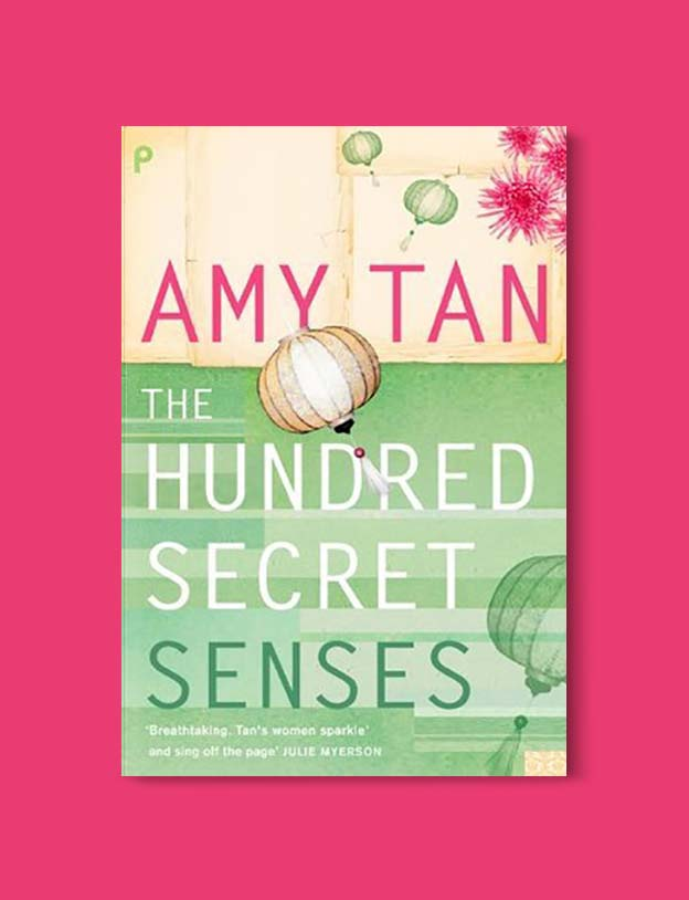 Books Set In China - The Hundred Secret Senses by Amy Tan. For books that inspire travel visit www.taleway.com. chinese books, books about china, books on chinese culture, novels set in china, chinese novels, best books about china, books on china travel, best novels about china, contemporary novels set in china, chinese historical fiction, china inspiration, china travel, packing china, china reading list, popular chinese books, novels set in ancient china, best chinese literature, travel reads, reading list, books around the world, books to read, books set in different countries