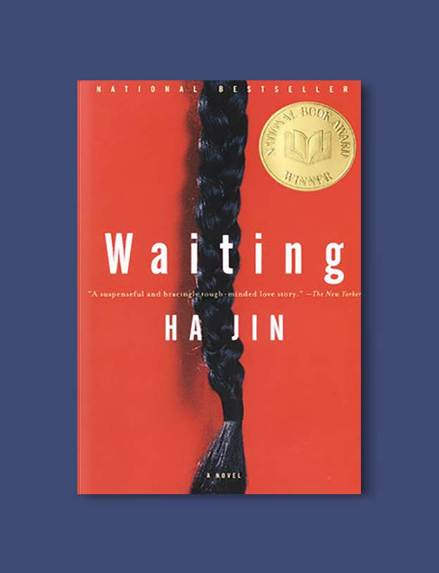 Books Set In China - Waiting by Ha Jin. For books that inspire travel visit www.taleway.com. chinese books, books about china, books on chinese culture, novels set in china, chinese novels, best books about china, books on china travel, best novels about china, contemporary novels set in china, chinese historical fiction, china inspiration, china travel, packing china, china reading list, popular chinese books, novels set in ancient china, best chinese literature, travel reads, reading list, books around the world, books to read, books set in different countries