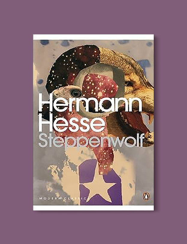 Books Set In Germany - Steppenwolf by Herman Hesse. For more books that inspire travel visit www.taleway.com. german books, books about germany, germany inspiration, books germany, germany travel, novels set in germany, german novels, german reading, germany reading challenge, books set in europe, german culture, german history, books arounds the world, books to read, reading challenge, travel reads