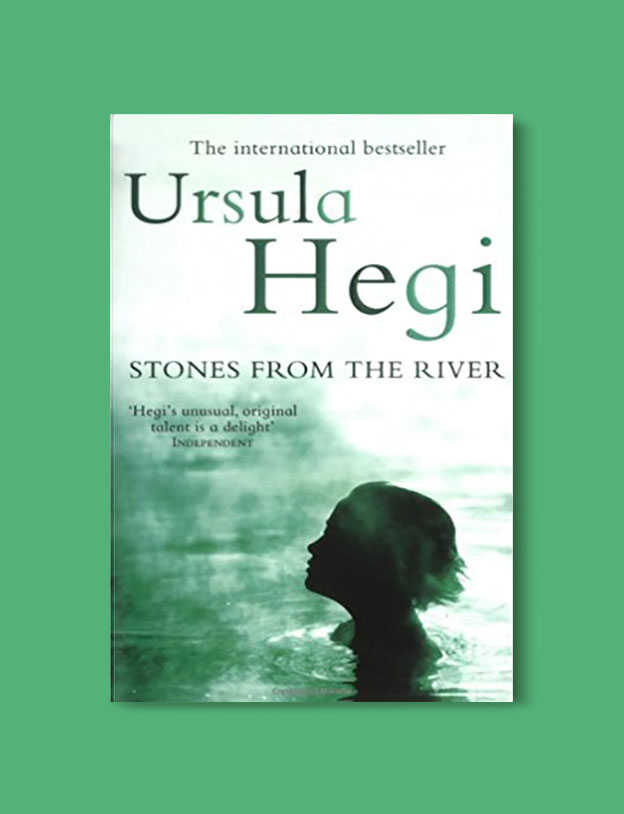 Books Set In Germany - Stones From The River by Ursula Hegi. For more books that inspire travel visit www.taleway.com. german books, books about germany, germany inspiration, books germany, germany travel, novels set in germany, german novels, german reading, germany reading challenge, books set in europe, german culture, german history, books arounds the world, books to read, reading challenge, travel reads
