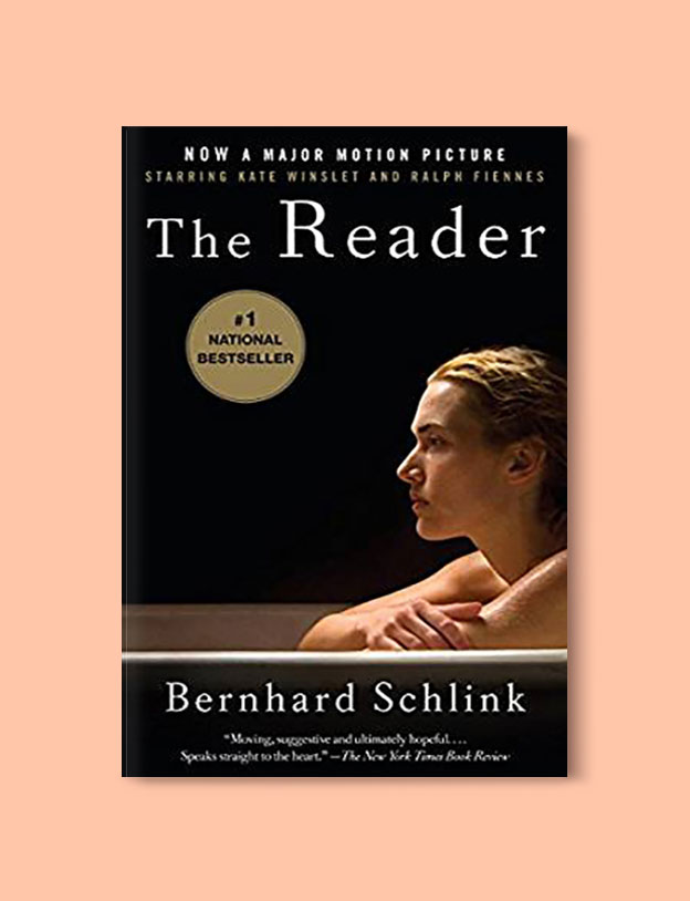 Books Set In Germany - The Reader by Bernhard Schlink. For more books that inspire travel visit www.taleway.com. german books, books about germany, germany inspiration, books germany, germany travel, novels set in germany, german novels, german reading, germany reading challenge, books set in europe, german culture, german history, books arounds the world, books to read, reading challenge, travel reads