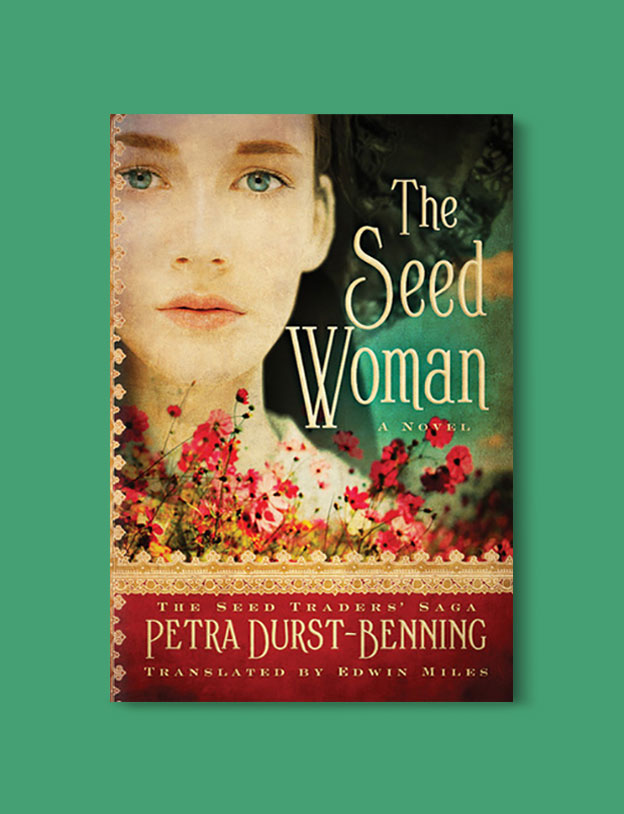 Books Set In Germany - The Seed Woman by Petra Durst-Benning. For more books that inspire travel visit www.taleway.com. german books, books about germany, germany inspiration, books germany, germany travel, novels set in germany, german novels, german reading, germany reading challenge, books set in europe, german culture, german history, books arounds the world, books to read, reading challenge, travel reads