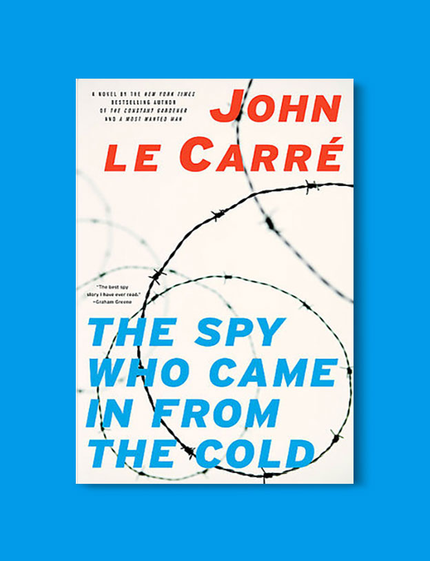 Books Set In Germany - The Spy Who Came In From The Cold by John Le Carre. For more books that inspire travel visit www.taleway.com. german books, books about germany, germany inspiration, books germany, germany travel, novels set in germany, german novels, german reading, germany reading challenge, books set in europe, german culture, german history, books arounds the world, books to read, reading challenge, travel reads