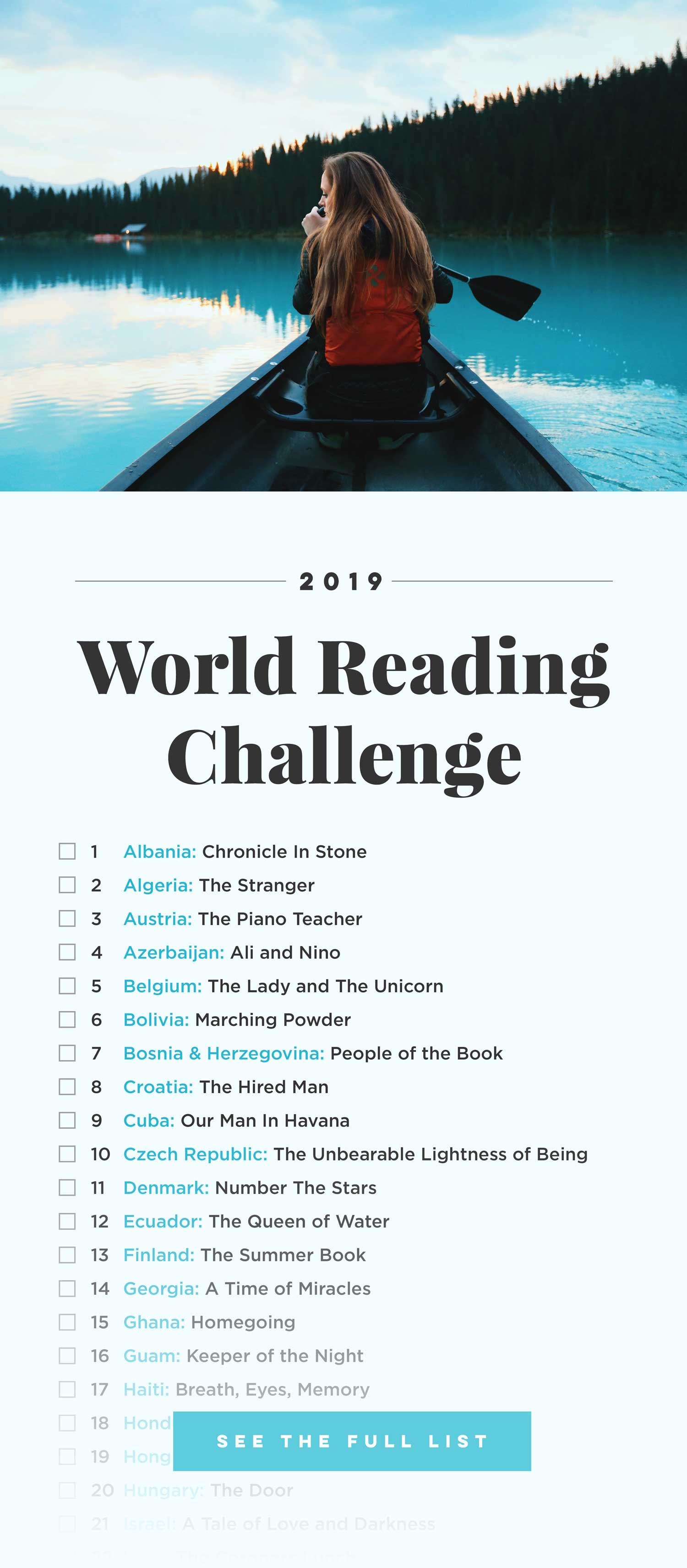 World Reading Challenge, Books Around The Globe - For more books visit www.taleway.com to find books set around the world. reading challenge, 2019 reading challenge, world reading challenge, book challenge, 52 books, 52 weeks, new years resolution, books you should read, books from around the world, world books, books and travel, travel reads, reading list, books around the world, books to read, books set in different countries