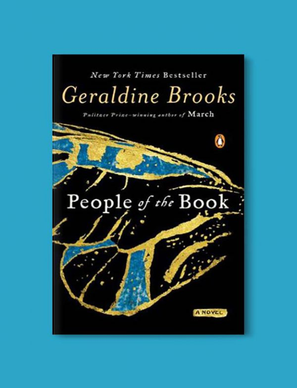 Books Set Around The World - People of the Book by Geraldine Brooks. For more books that inspire travel visit www.taleway.com. world books, books around the world, travel inspiration, world travel, novels set around the world, world novels, books and travel, travel reads, reading list, books to read, books set in different countries, world reading challenge