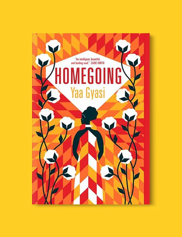 Books Set Around The World - Homegoing by Yaa Gyasi. For more books that inspire travel visit www.taleway.com. world books, books around the world, travel inspiration, world travel, novels set around the world, world novels, books and travel, travel reads, reading list, books to read, books set in different countries, world reading challenge