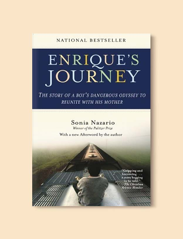 Books Set Around The World - Enrique's Journey by Sonia Nazario. For more books that inspire travel visit www.taleway.com. world books, books around the world, travel inspiration, world travel, novels set around the world, world novels, books and travel, travel reads, reading list, books to read, books set in different countries, world reading challenge
