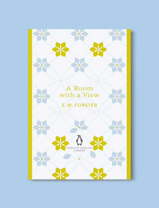 Penguin English Library - A Room with a View by E. M. Forster. penguin books, penguin classics, english library books, new penguin english library, penguin library, penguin books series, english library, coralie bickford smith, classic books, classic books to read, book design, reading challenge, reading list, books to read