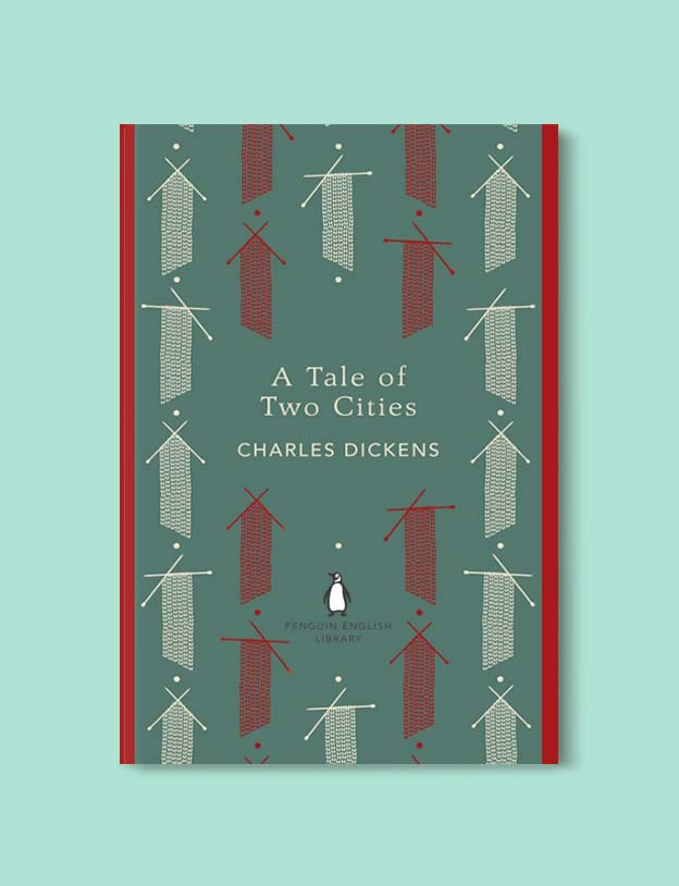 Penguin English Library - A Tale of Two Cities by Charles Dickens. penguin books, penguin classics, english library books, new penguin english library, penguin library, penguin books series, english library, coralie bickford smith, classic books, classic books to read, book design, reading challenge, reading list, books to read