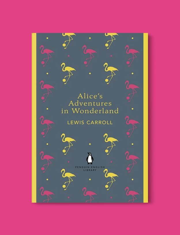 Penguin English Library - Alice's Adventures in Wonderland by Lewis Carroll. penguin books, penguin classics, english library books, new penguin english library, penguin library, penguin books series, english library, coralie bickford smith, classic books, classic books to read, book design, reading challenge, reading list, books to read