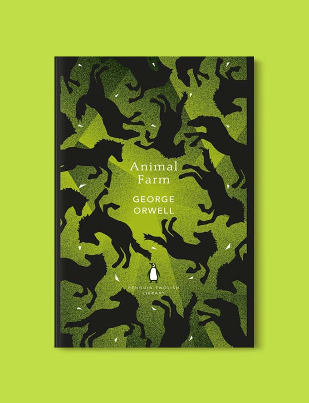 Penguin English Library - Animal Farm by George Orwell. penguin books, penguin classics, english library books, new penguin english library, penguin library, penguin books series, english library, coralie bickford smith, classic books, classic books to read, book design, reading challenge, reading list, books to read
