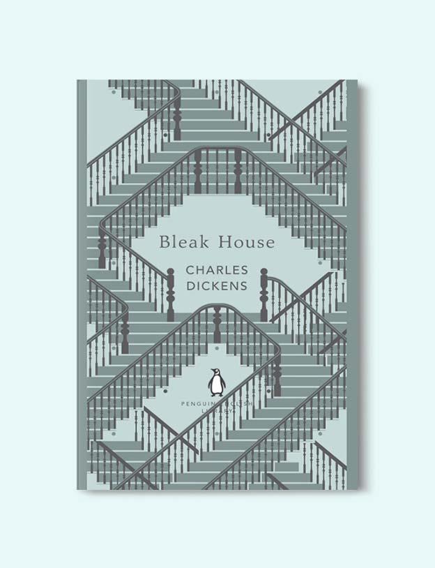 Penguin English Library - Bleak House by Charles Dickens. penguin books, penguin classics, english library books, new penguin english library, penguin library, penguin books series, english library, coralie bickford smith, classic books, classic books to read, book design, reading challenge, reading list, books to read