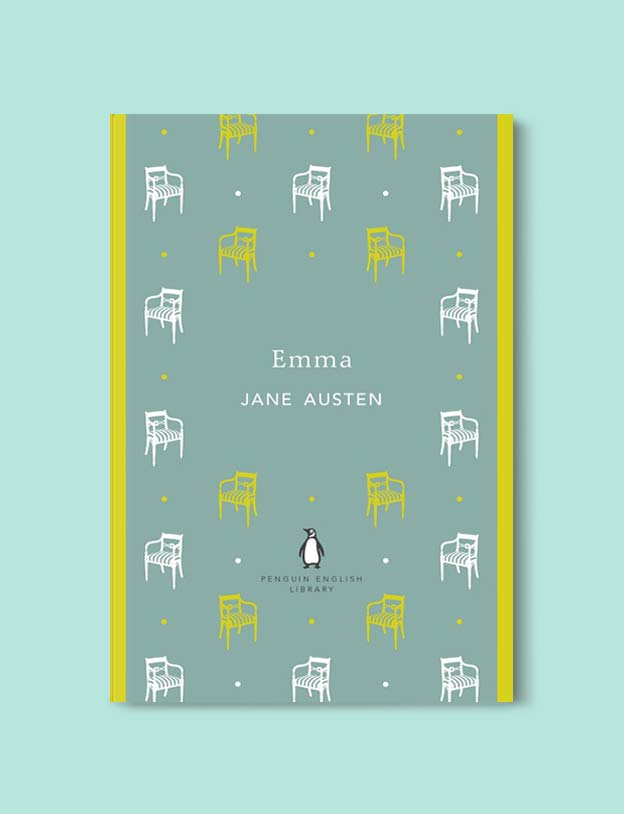 Penguin English Library - Emma by Jane Austen. penguin books, penguin classics, english library books, new penguin english library, penguin library, penguin books series, english library, coralie bickford smith, classic books, classic books to read, book design, reading challenge, reading list, books to read
