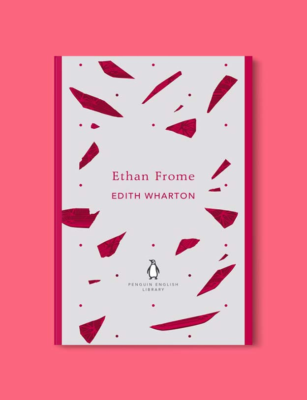 Penguin English Library - Ethan Frome by Edith Wharton. penguin books, penguin classics, english library books, new penguin english library, penguin library, penguin books series, english library, coralie bickford smith, classic books, classic books to read, book design, reading challenge, reading list, books to read
