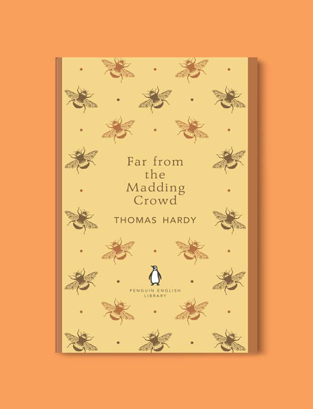 Penguin English Library - Far from the Madding Crowd by Thomas Hardy. penguin books, penguin classics, english library books, new penguin english library, penguin library, penguin books series, english library, coralie bickford smith, classic books, classic books to read, book design, reading challenge, reading list, books to read