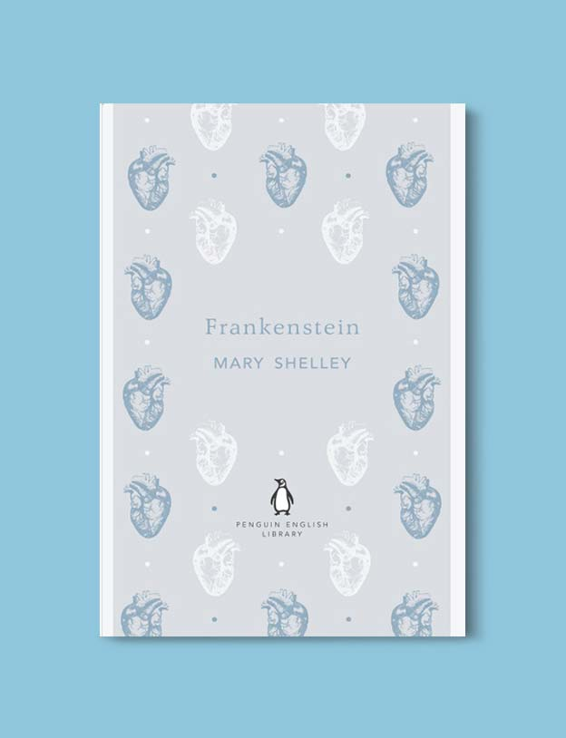 Penguin English Library - Frankenstein by Mary Shelley. penguin books, penguin classics, english library books, new penguin english library, penguin library, penguin books series, english library, coralie bickford smith, classic books, classic books to read, book design, reading challenge, reading list, books to read