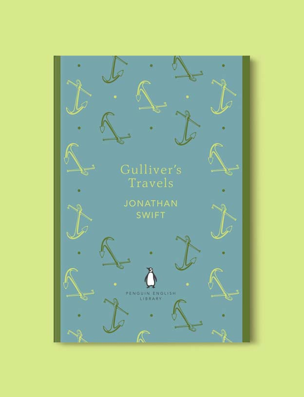Penguin English Library - Gulliver's Travels by Jonathan Swift. penguin books, penguin classics, english library books, new penguin english library, penguin library, penguin books series, english library, coralie bickford smith, classic books, classic books to read, book design, reading challenge, reading list, books to read