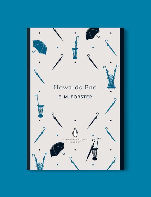 Penguin English Library - Howards End by E. M. Forster. penguin books, penguin classics, english library books, new penguin english library, penguin library, penguin books series, english library, coralie bickford smith, classic books, classic books to read, book design, reading challenge, reading list, books to read