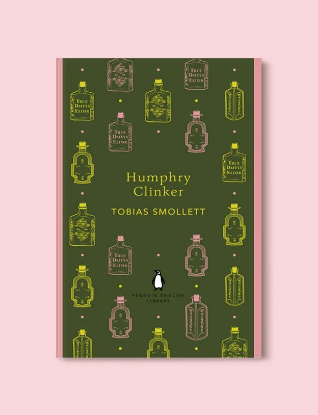 Penguin English Library - Humphry Clinker by Tobias Smollett. penguin books, penguin classics, english library books, new penguin english library, penguin library, penguin books series, english library, coralie bickford smith, classic books, classic books to read, book design, reading challenge, reading list, books to read