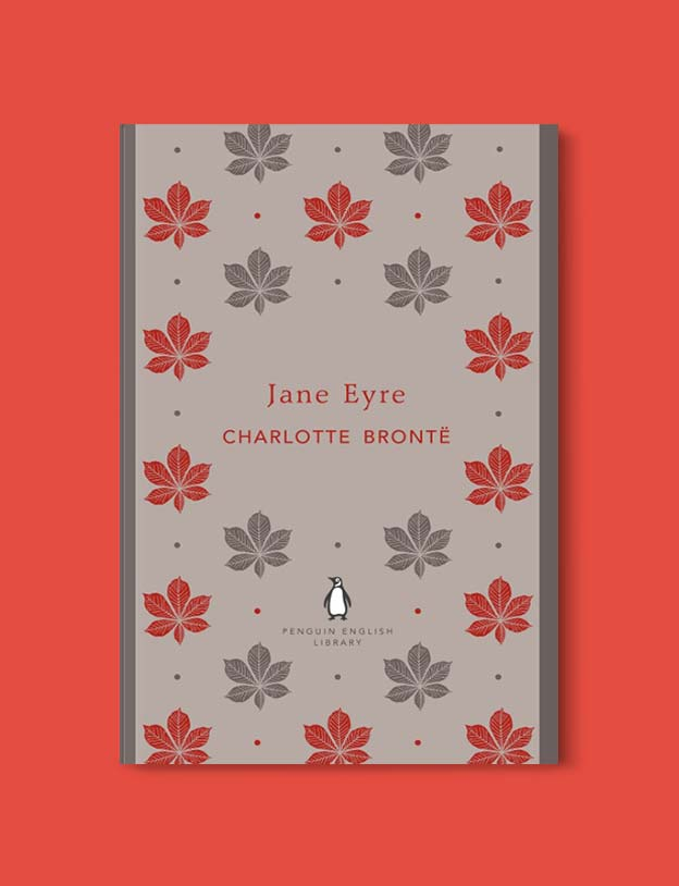Penguin English Library - Jane Eyre by Charlotte Brontë. penguin books, penguin classics, english library books, new penguin english library, penguin library, penguin books series, english library, coralie bickford smith, classic books, classic books to read, book design, reading challenge, reading list, books to read