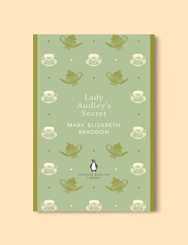 Penguin English Library - Lady Audley's Secret by Mary Elizabeth Braddon. penguin books, penguin classics, english library books, new penguin english library, penguin library, penguin books series, english library, coralie bickford smith, classic books, classic books to read, book design, reading challenge, reading list, books to read