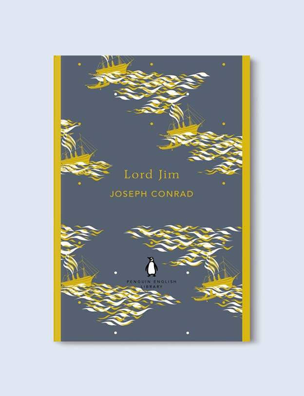Penguin English Library - Lord Jim by Joseph Conrad. penguin books, penguin classics, english library books, new penguin english library, penguin library, penguin books series, english library, coralie bickford smith, classic books, classic books to read, book design, reading challenge, reading list, books to read