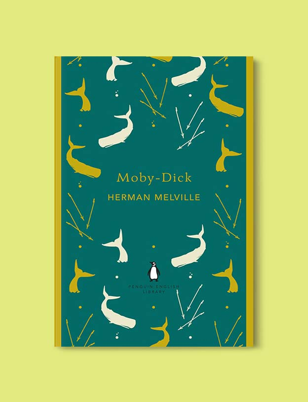 Penguin English Library - Moby-Dick by Herman Melville. penguin books, penguin classics, english library books, new penguin english library, penguin library, penguin books series, english library, coralie bickford smith, classic books, classic books to read, book design, reading challenge, reading list, books to read