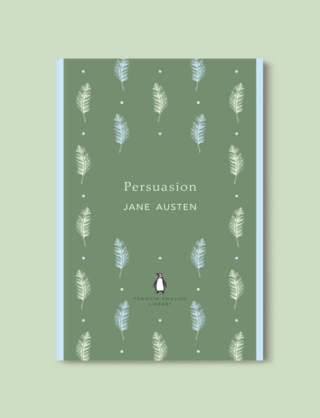 Penguin English Library - Persuasion by Jane Austen. penguin books, penguin classics, english library books, new penguin english library, penguin library, penguin books series, english library, coralie bickford smith, classic books, classic books to read, book design, reading challenge, reading list, books to read