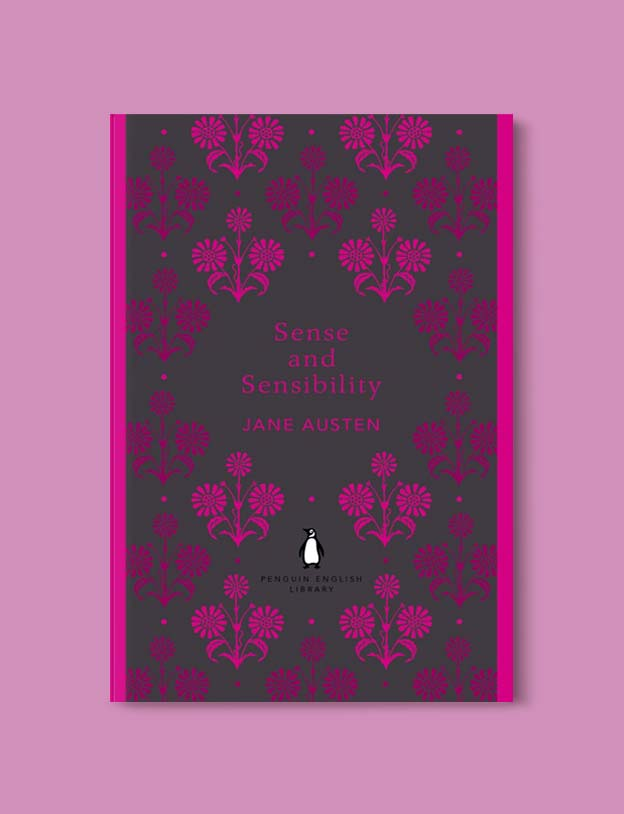 Penguin English Library - Sense and Sensibility by Jane Austen. penguin books, penguin classics, english library books, new penguin english library, penguin library, penguin books series, english library, coralie bickford smith, classic books, classic books to read, book design, reading challenge, reading list, books to read