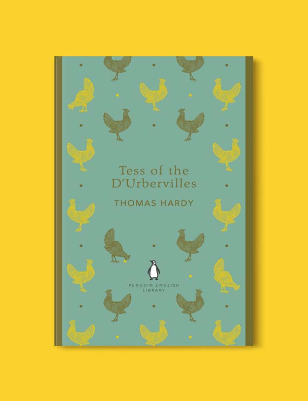 Penguin English Library - Tess of the D'Urbervilles by Thomas Hardy. penguin books, penguin classics, english library books, new penguin english library, penguin library, penguin books series, english library, coralie bickford smith, classic books, classic books to read, book design, reading challenge, reading list, books to read